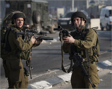 Израильские солдаты убили своего сослуживца