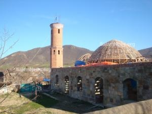 В  Грузии неизвестными захвачена мечеть