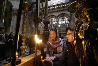 Израильские власти не допустят палестинских христиан к Благодатному огню
