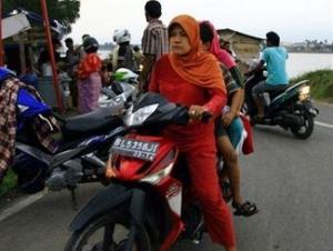 Население Суматры эвакуируется из зоны землетрясения