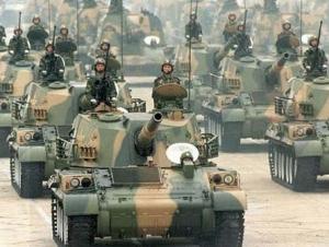 Китай демонстрирует свою военную мощь