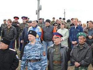 В Крыму убрали несанкционированно установленный крест