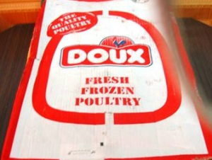 Во Франции разгорается скандал вокруг «халяльных» кур Doux