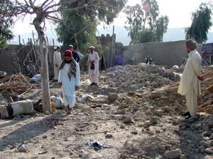 В результате американской  бомбардировки убиты мирные жители