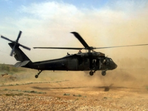 В Ираке потерпел крушение американский вертолёт