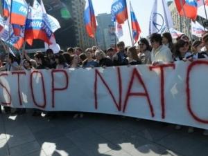 В Москве протестуют против участия войск НАТО в Параде Победы