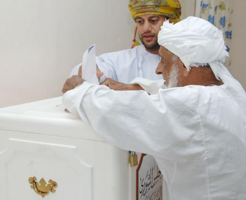 Оман переходит на электронную систему голосования