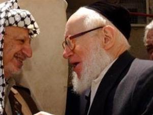 Ясир Арафат и раввин Гирш