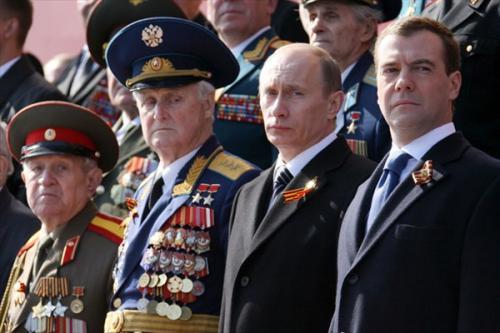 Медведев напомнил Европе о долге перед Красной Армией