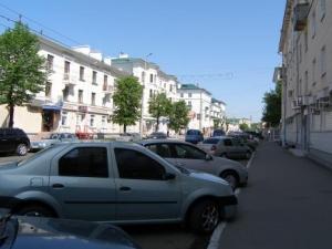 Современная улица Володарского - любимый горожанами уголок старой Пензы