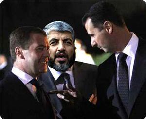 Д.Медведев встретился с лидером ХАМАС Х.Машаалем