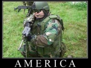 Американцы слишком жирные, чтобы воевать
