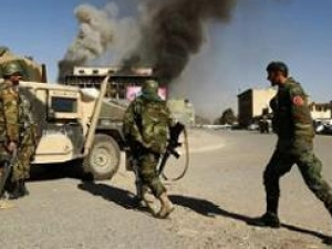 В центре Кабула атакован военный конвой НАТО