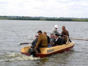 Сибирские рыболовы уповают на Всевышнего