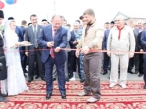 Стратегически важный объект открылся в Грозном