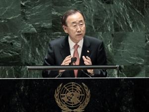 Пан Ги Мун надеется освободить мир от ядерного оружия