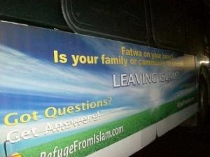 В Нью-Йорке появилась реклама, призывающая отказаться от ислама