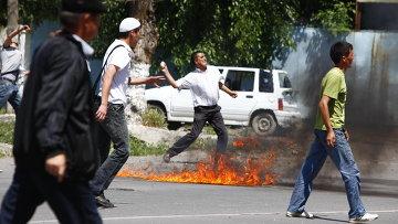 В Киргизии снова начались беспорядки