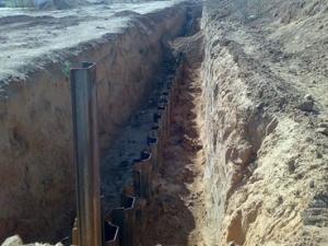США прекращают строительство стены на границе Египта и Газы