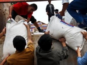 Отунбаева озабочена логистикой гуманитарной помощи