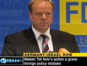 Немецкий МИД возмущен действиями Израиля