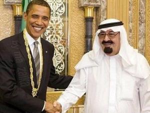 Саудовский король надавит на Обаму