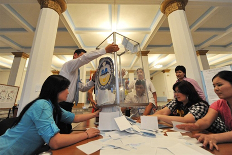 Новую Конституцию Киргизии поддержали 90,55%