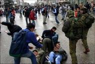 За июнь в Хевроне похищено сто палестинцев