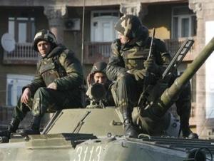 Российские военные в Армении