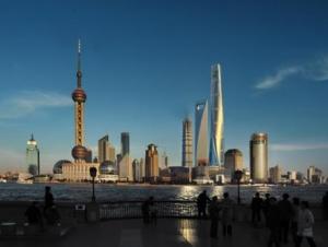 Панорама Шанхая сама по себе является ярким образом современного Китая