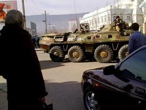 В блогах: В Дагестан перебрасывают военную технику и войска