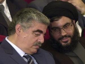 Рафик Харири и Хасан Насралла
