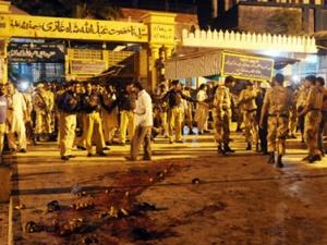 В Пакистане террористы  взорвали усыпальницу