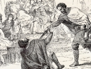 Великий князь Дмитрий убивает московского князя Юрия
