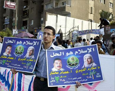Накануне выборов режим Египта расправляется с оппозицией