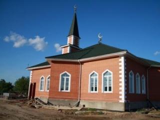 Новая мечеть в Подмосковье