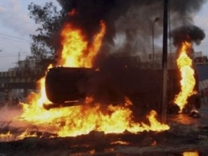 В Пакистане сожжены автоцистерны с топливом для НАТО