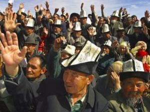 Уральские киргизы провели акцию протеста