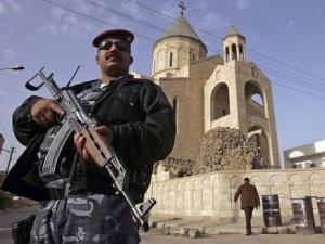Полиция Ирака освободила заложников в католическом храме