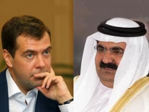 Президент России и Эмир Катара проведут переговоры на высшем уровне