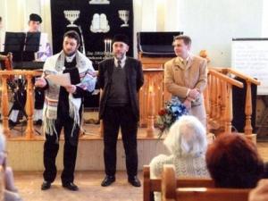 Фатых Гарифуллин не первый раз читает аяты Корана в синагоге