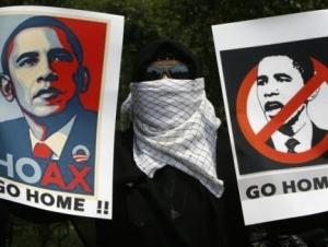 Обаму встретили в Индонезии акциями протеста