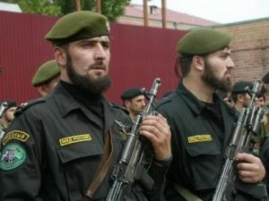 Чеченская милиция демонстрируют эффективность в борьбе с терроризмом