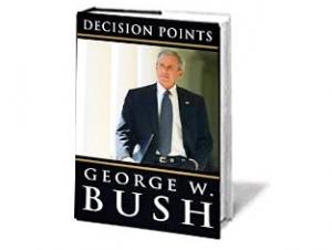 В книге бывший лидер США иронически изображает себя как подневольного воина, который стеснялся прибегать к силе