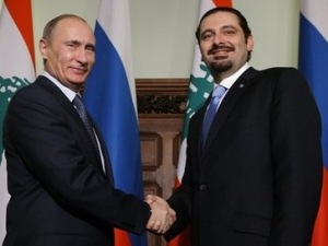 Путин призвал Харири оказать поддержку российскому бизнесу в ливанских проектах