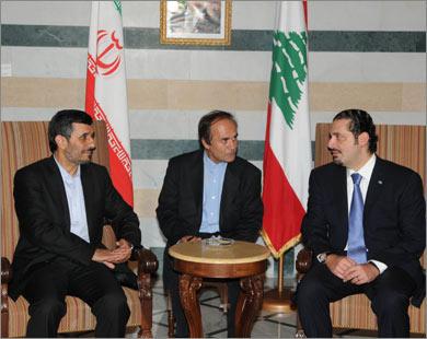 Ливанский премьер впервые посетил Иран