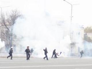 В центре Бишкека прогремел мощный взрыв. Есть пострадавшие