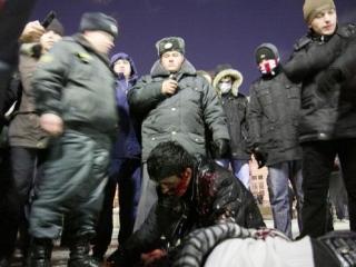 В блогах: Сегодня в центре Москвы одни люди убивали других из-за национальности