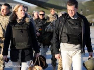 Немецкий военный министр использовал Афганистан для шоу-бизнеса
