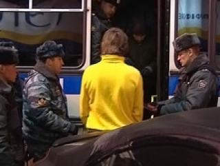 В Москве милицией задержано более 1000 человек